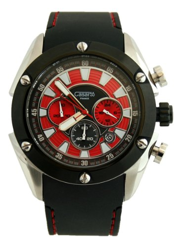 Waooh Uhr Casar55 V768G Rot