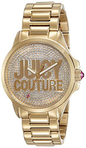 Jetsetter WomenJuicy Couture 1725 1562 Analog Quarz Gold 1901148 Armband Rotgold