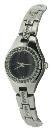 Rio Damen-Armbanduhr Analog andere Materialien silber RIO27B