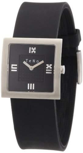 Teno Damen-Armbanduhr Analog Kautschuk 089102201