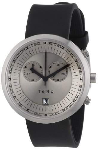 Teno Damen-Armbanduhr Analog Kautschuk 089200101