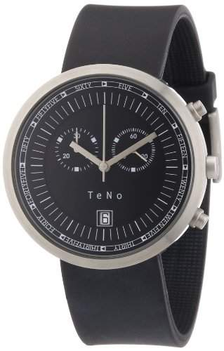 Teno Damen-Armbanduhr Analog Kautschuk 089200601