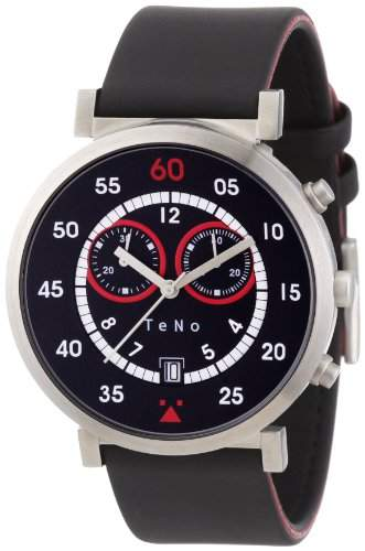 Teno Damen-Armbanduhr Analog Kautschuk 0892007H05
