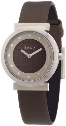 Teno Damen-Armbanduhr Analog Kautschuk 0894024A28