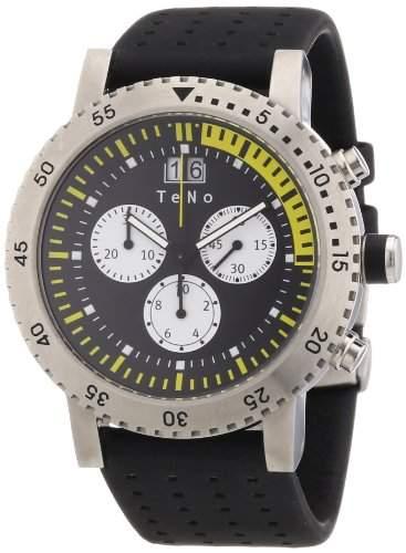 Teno Damen-Armbanduhr Chronograph Kautschuk 089830314