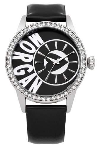 Morgan De Toi Damen-Armbanduhr Analog Quarz Leder M1103B