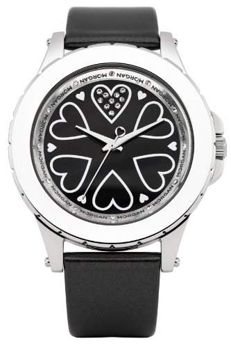 Morgan De Toi Damen-Armbanduhr Analog Quarz Leder M1128B