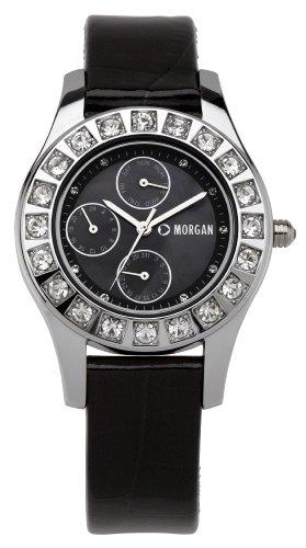 Morgan De Toi Damen Armbanduhr XS Analog Quarz Leder M1082B