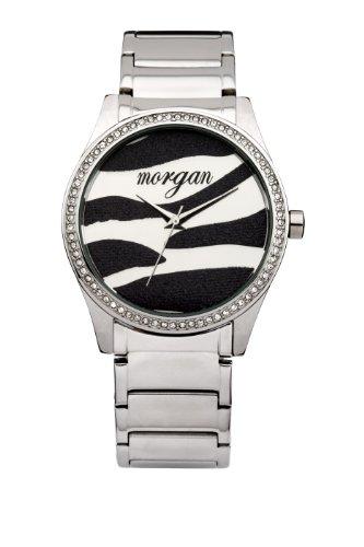 Morgan De Toi Damen Armbanduhr silber 41 mm