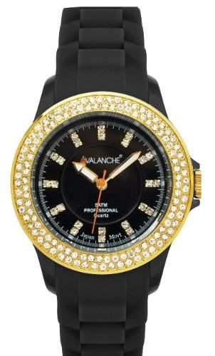 Avalanche Damen-Armbanduhr Plastik ABV107sbkgd40