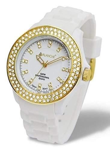 Avalanche Bliss Kristall Damen Maedchen-Frauen -Armbanduhr