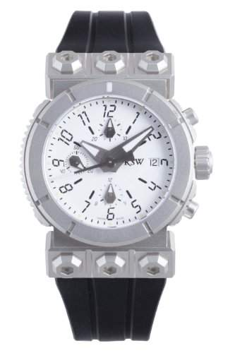 RSW Herren-Armbanduhr XL Outland Analog Automatik Kautschuk 4125MSR1H200