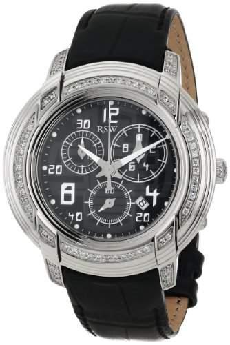 RSW Herren-Armbanduhr XL Volante Analog Leder 4130BSL112F1