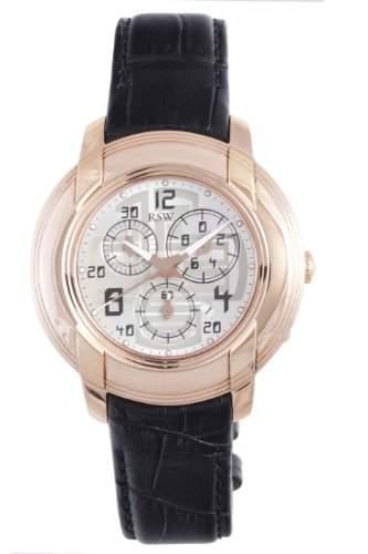 RSW Herren-Armbanduhr XL Volante Analog Leder 4130PPL15200