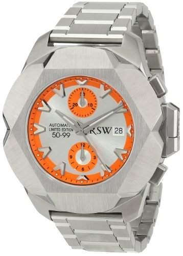 RSW Herren-Armbanduhr XL Nazca Analog Automatik Edelstahl 4450MSS05800