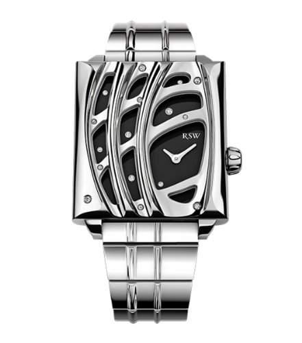 RSW Damen-Armbanduhr XS Wonderland Analog Edelstahl 6020BSS011DS