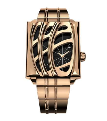 RSW Damen-Armbanduhr XS Wonderland Analog Edelstahl 6020PPPP100
