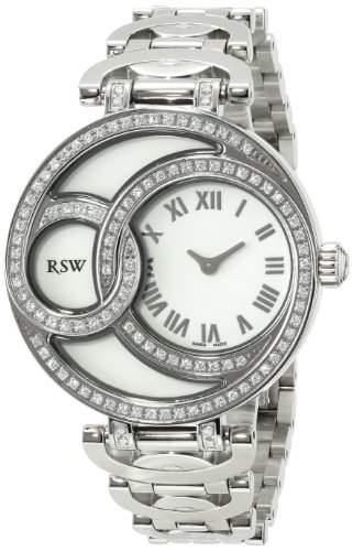 RSW Damen-Armbanduhr Wonderland Round Analog Edelstahl 6025BSS02F1