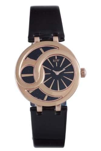 RSW Damen-Armbanduhr Wonderland Round Analog Leder 6025PPL1100