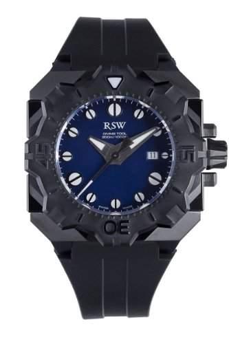 RSW Herren-Armbanduhr XL Diving Tool Analog Automatik Kautschuk 70501R1300