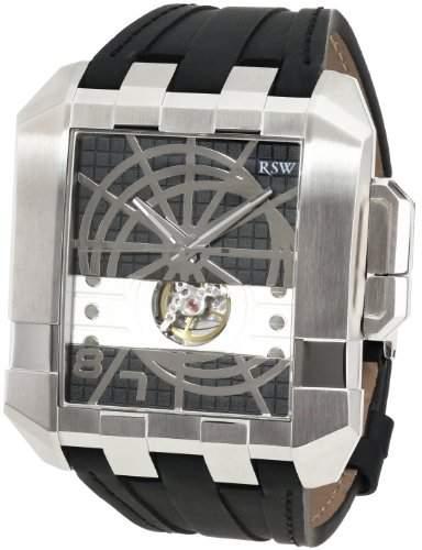 RSW Herren-Armbanduhr XL Crossroads Analog Automatik Leder 7110MSV1100