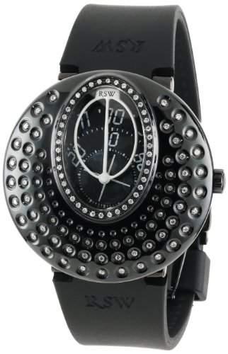 RSW Damen-Armbanduhr Moonflower Analog Automatik Kautschuk 71301R11F1