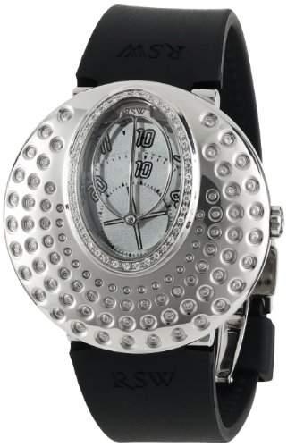 RSW Damen-Armbanduhr Moonflower Analog Automatik Kautschuk 7130BSR15F1