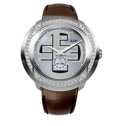 RSW Herren-Armbanduhr XL Volante Analog Leder 9130BSL952F1