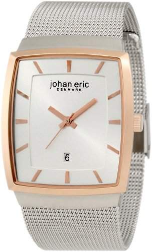 Johan Eric Herren-Armbanduhr XL Tondor Analog Edelstahl JE1003-04-0012
