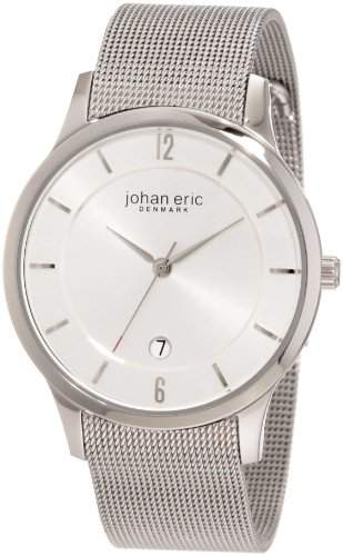 Johan Eric Herren-Armbanduhr XL Hobro Analog Edelstahl JE2000-04-001