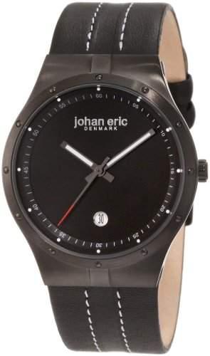 Johan Eric Herren-Armbanduhr XL Skive Analog Leder JE3004-13-007
