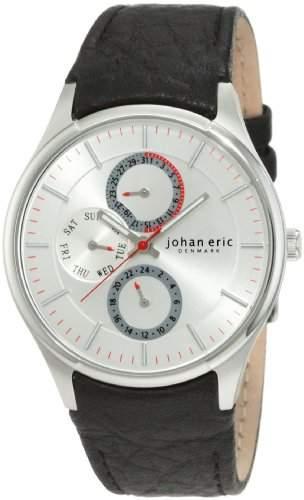 Johan Eric Herren-Armbanduhr XL Streur Analog Leder JE4000-04-001