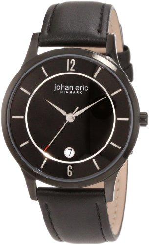 Johan Eric Herren Armbanduhr XL Hobro Analog Leder JE2003 13 007