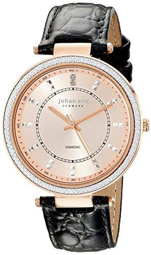 Johan Eric Damen je1000b 09 007 ballrup Analog Display Quartz Black Watch