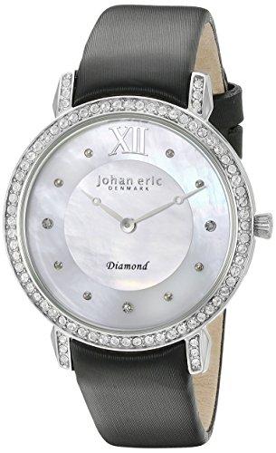 Johan Eric Damen je7000 04 009 11 Ribe Analog Display Quartz Black Watch