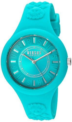 Versus Damen Armbanduhr Analog Quarz Silikon SOQ070016