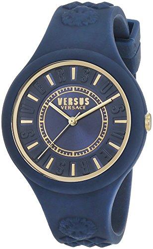 Versus Damen Armbanduhr Analog Quarz Silikon SOQ090016
