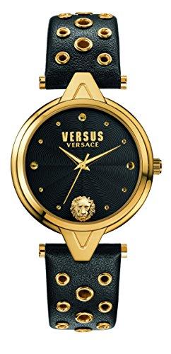 Versus Damen Armbanduhr Analog Quarz Leder SCI030016