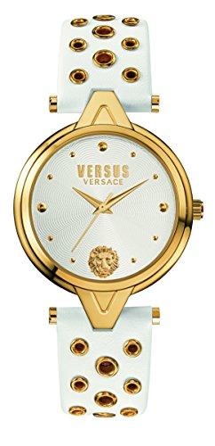 Versus Damen Armbanduhr Analog Quarz Leder SCI040016