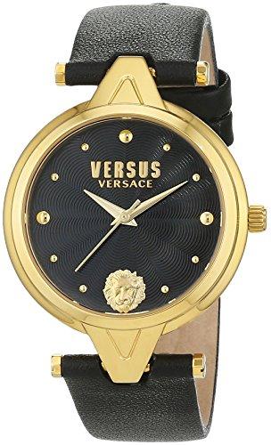 Versus Damen Armbanduhr Analog Quarz Leder SCI110016