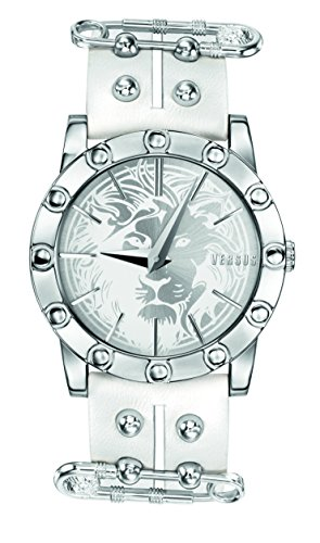 Versus by Versace Damen SF7010014 Miami Analog Display Quartz White Armbanduhr