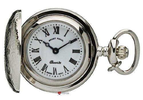 Klassische haengende Uhr Verziert Chrome Finish Volle Hunter roemische Ziffern Quartz