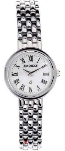 Damen Sterling Silber Rund Praesentation Watch on Passende Armband