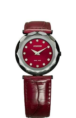 Jowissa Damen-Armbanduhr XS Safira 99 Analog Leder J1019M