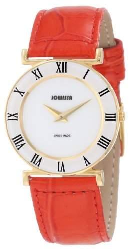 Jowissa Damen-Armbanduhr XS Roma Colori Analog Leder J2031M