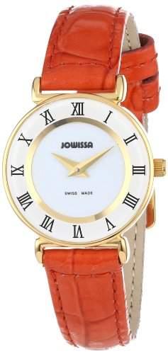 Jowissa Damen-Armbanduhr XS Roma Colori Analog Leder J2031S