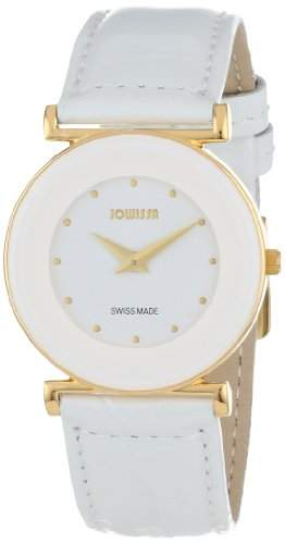 Jowissa Damen-Armbanduhr XS Elegance Analog Leder J3019M