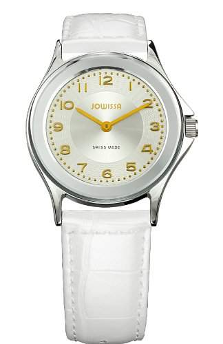 Jowissa Herren-Armbanduhr XL Genua Analog Leder J4011M