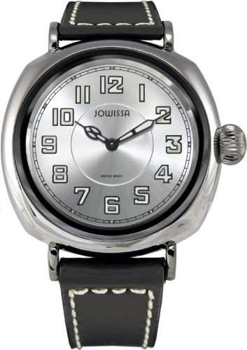 Jowissa Herren-Armbanduhr XL Atavus Analog Leder J4027L