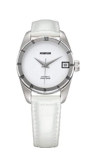 Jowissa Damen-Armbanduhr XS Monte Carlo AnalogAutomatik Leder J4061M